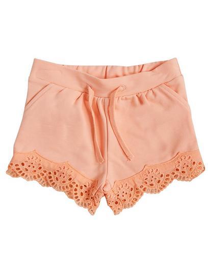 Korallenorange Shorts